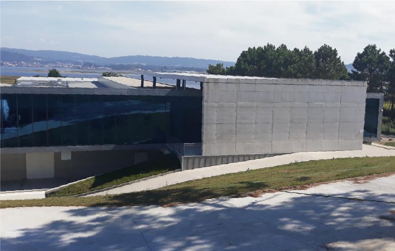 Biomarine Pescanova nuevo centro i+d+i - Entrada