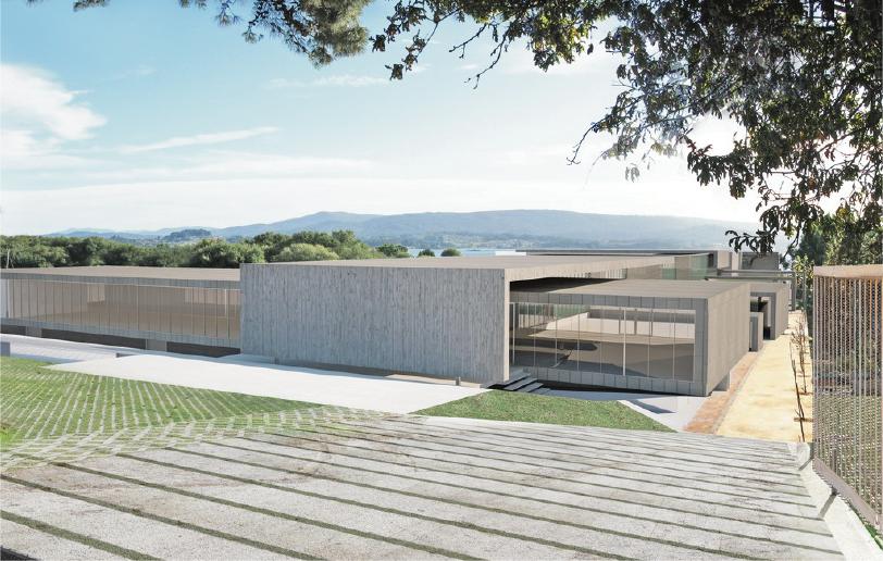 Biomarine Pescanova nuevo centro i+d+i - Entrada principal