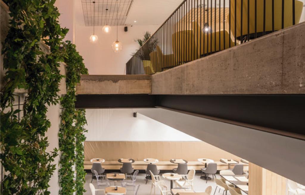 Reforma hotel Airiños renovación 3 estrellas - Comedor