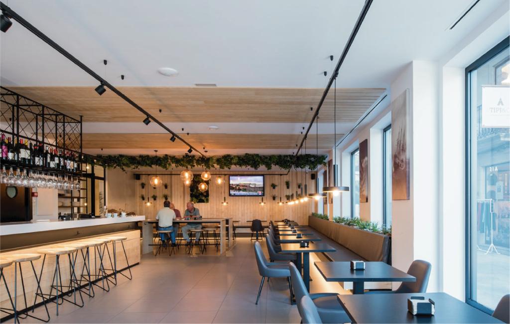 Reforma hotel Airiños renovación 3 estrellas - Restaurante
