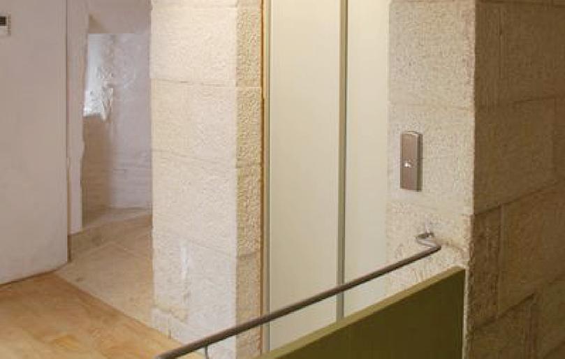Santiago Casa do Cabildo rehabilitación - Interior rehabilitado