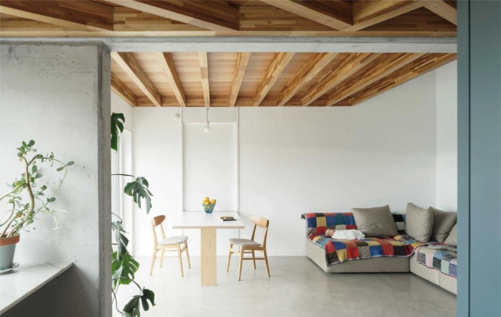 Vivienda unifamiliar certificada con el estándar passivhaus Cachóns - Vista interior salón