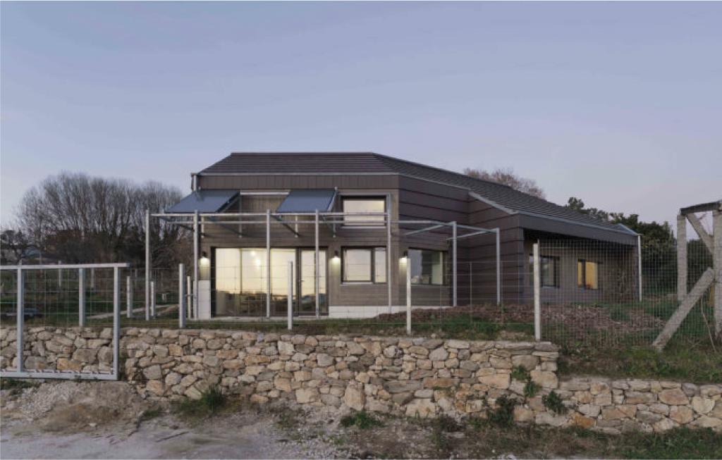 Vivienda unifamiliar certificada con el estándar passivhaus en Cachóns - Vista exterior